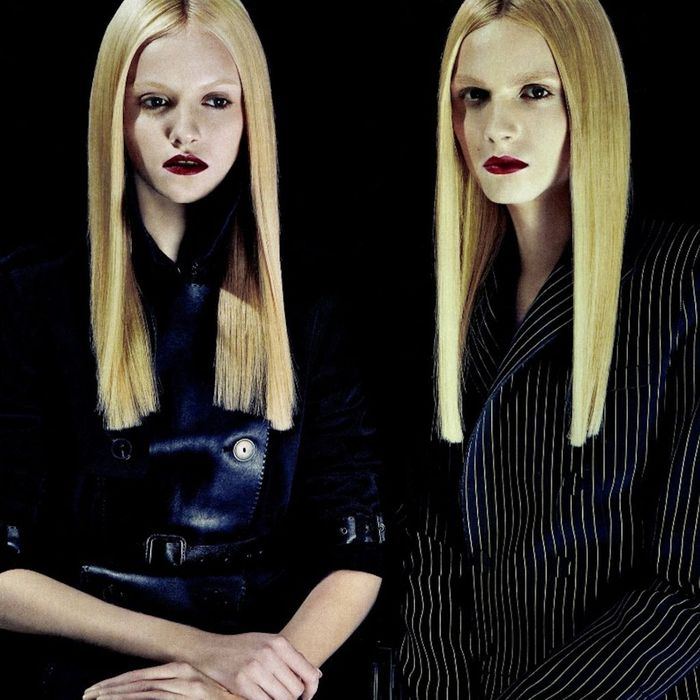 Ginta Lapina and Andrej Pejic.