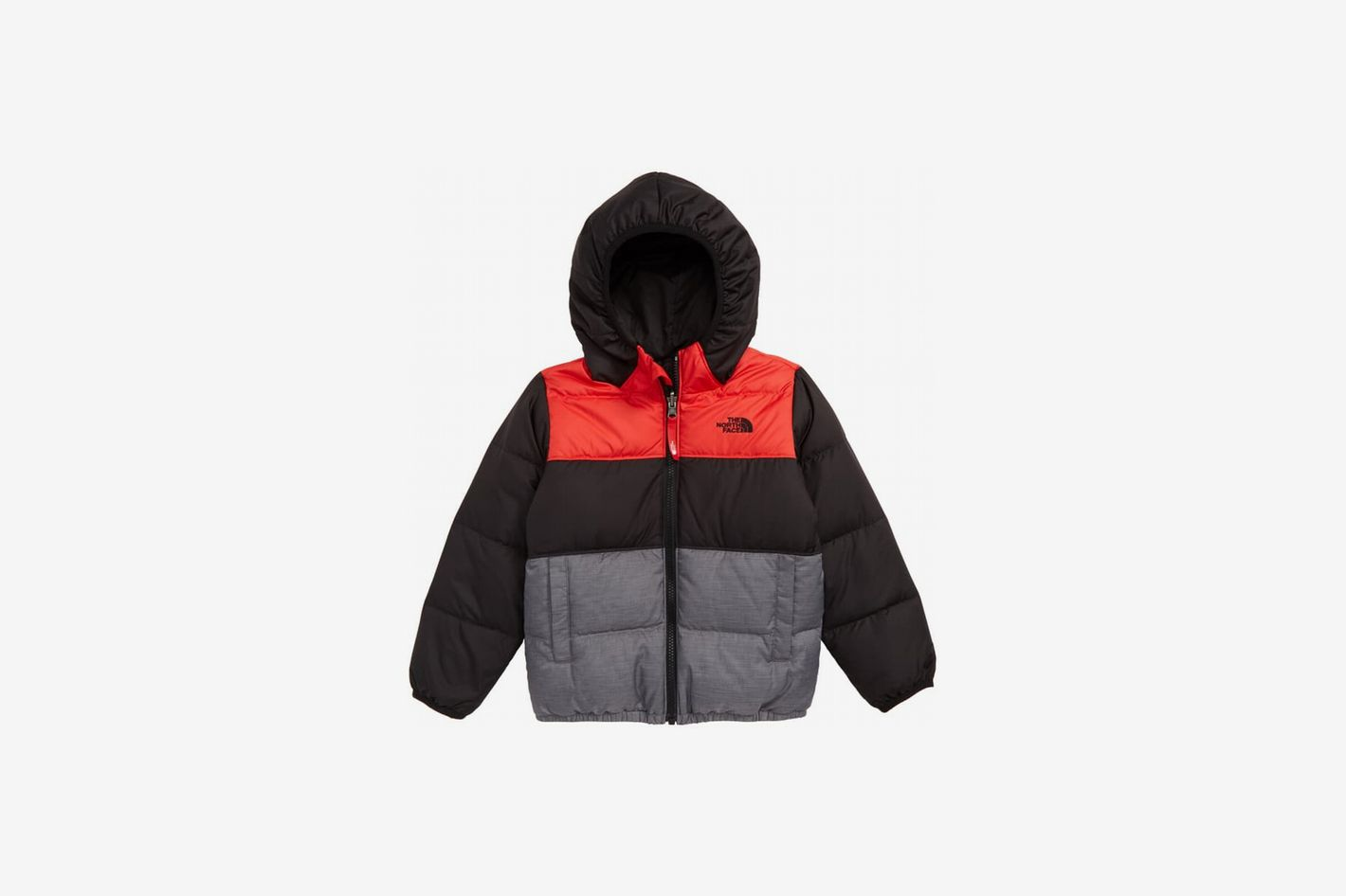 North Face 'Moondoggy' Water Repellent Reversible Down Jacket