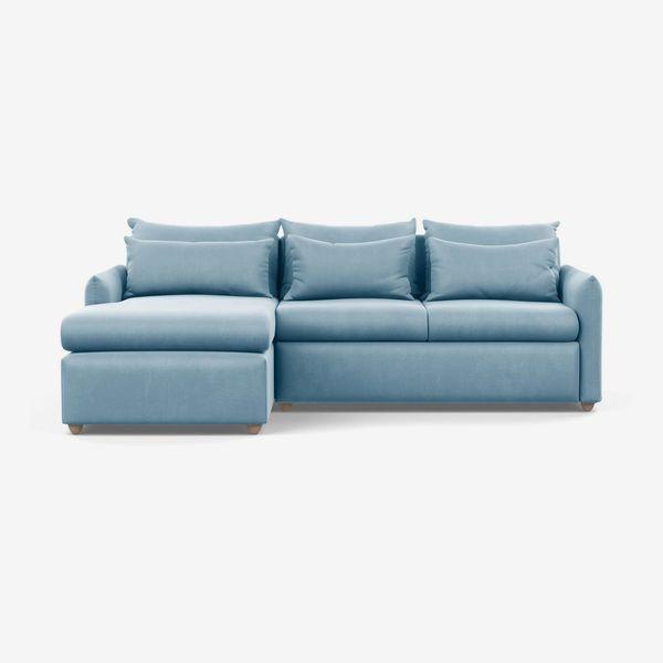 Heal's Pillow Medium Corner Chaise Sofa