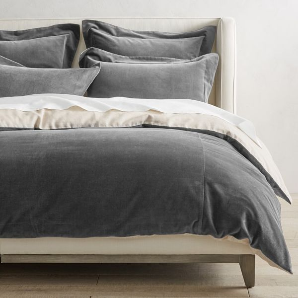 Williams Sonoma Classic Velvet Duvet Cover