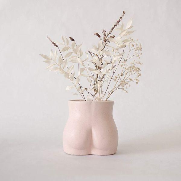 BASE ROOTS Body Flower Vase
