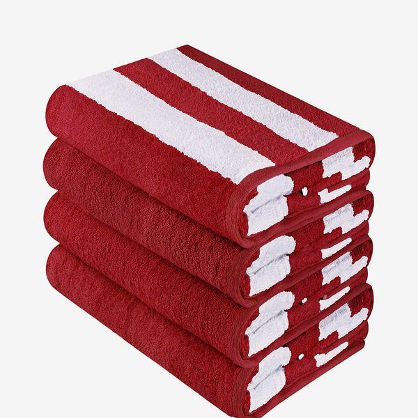 Utopia Towels Cabana Stripe Beach Towel Set