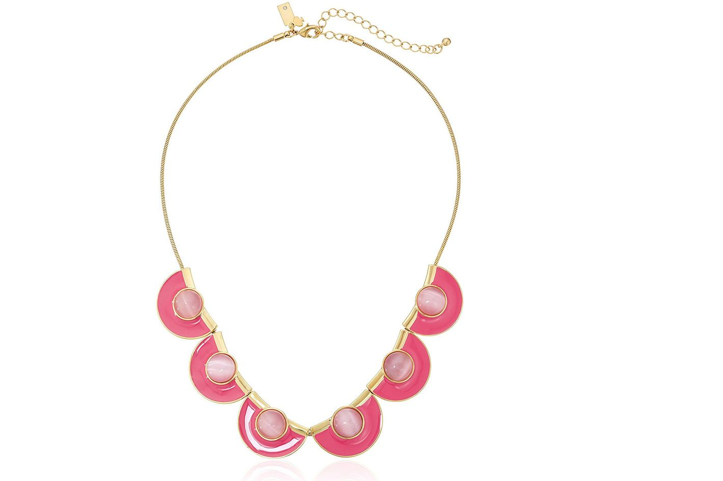 Kate Spade New York Pink Short Necklace