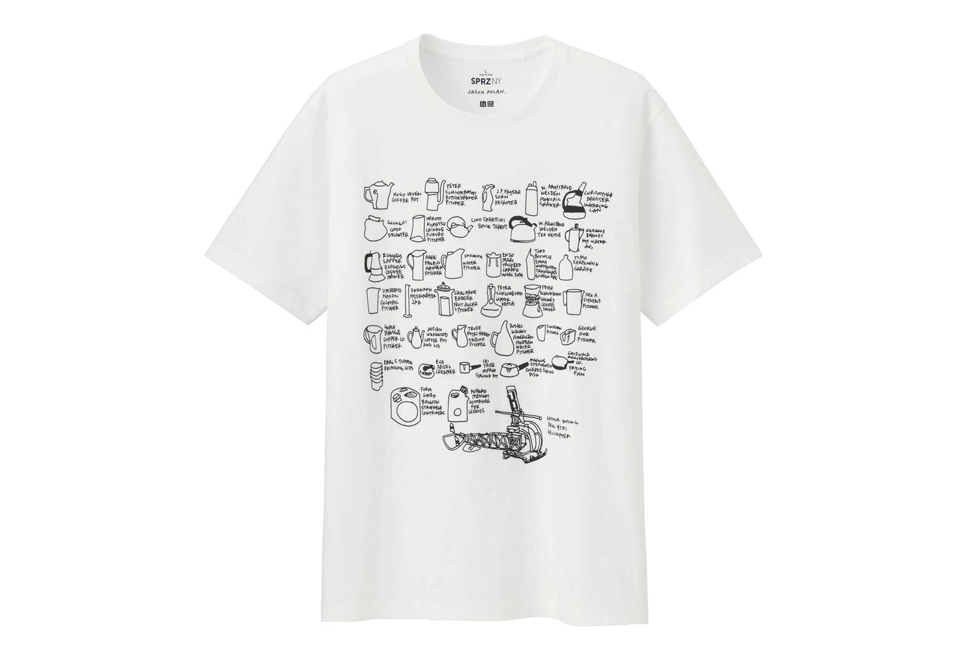 Jason Polan for Uniqlo T-Shirt