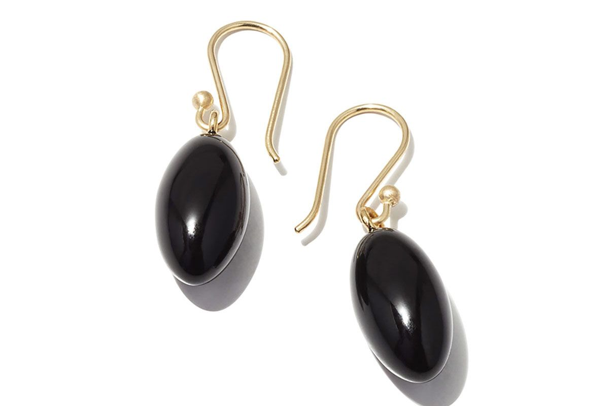 Best Earrings: Ted Muehling Onyx Berry Earrings