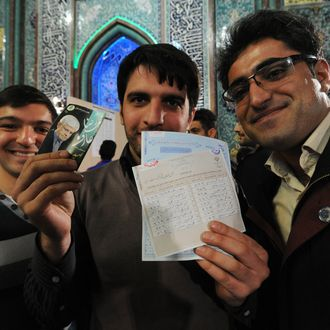 Iranians Vote In Parliament And Assembly Of Experts Elections