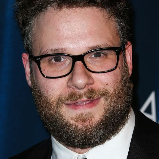 Seth Rogen arrives at Hilarity For Charity's 4th Annual Variety Show: James Franco's Bar Mitzvah