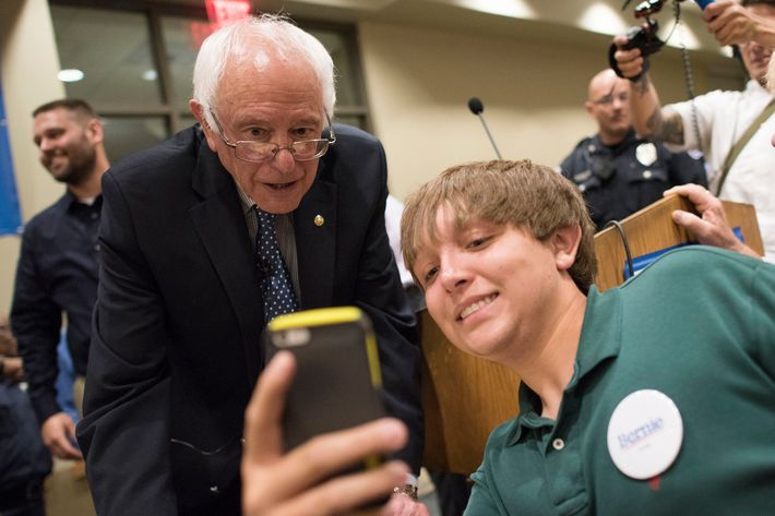 Presidential Candidate Senator Bernie Sanders Townhall Meeting At St. Ambrose University