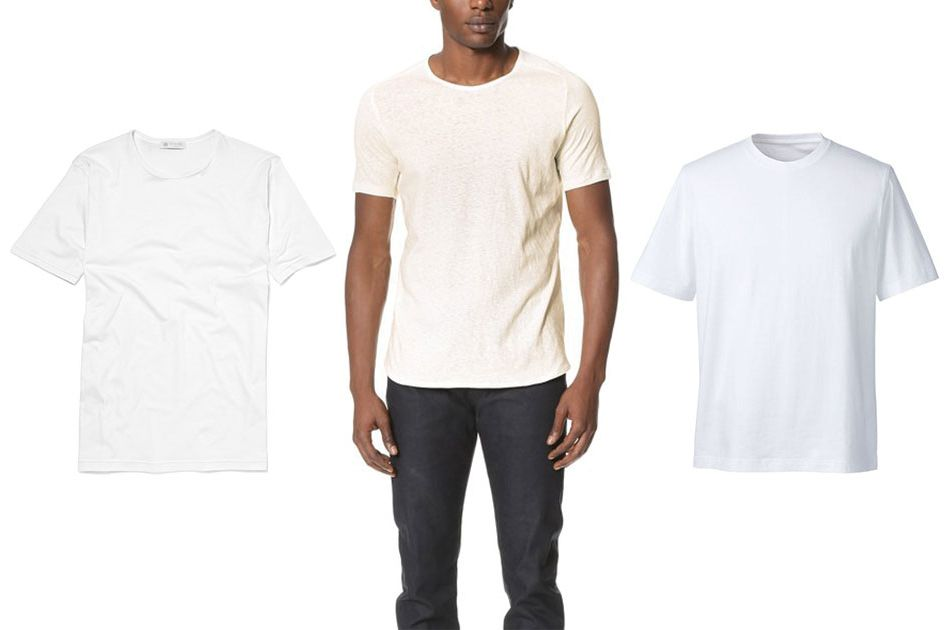 The best white T-shirts for men are also an able menswear move when worn with equally classic menswear essentials, like rugged dark denim and black high-top sneakers. Heck, you can even wear it with a lightweight navy cotton blazer, tan chinos and white sneakers to the office.