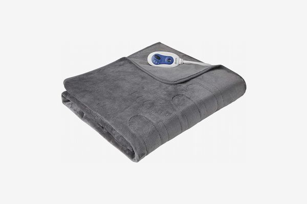 Beautyrest Heated Electric Throw with Foot Pocket