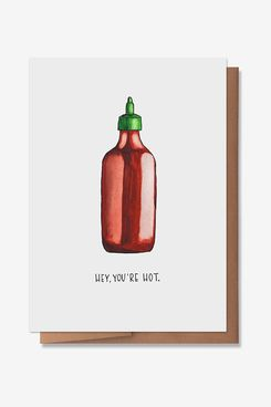 Wunderkid You're Hot Valentine's Day Card