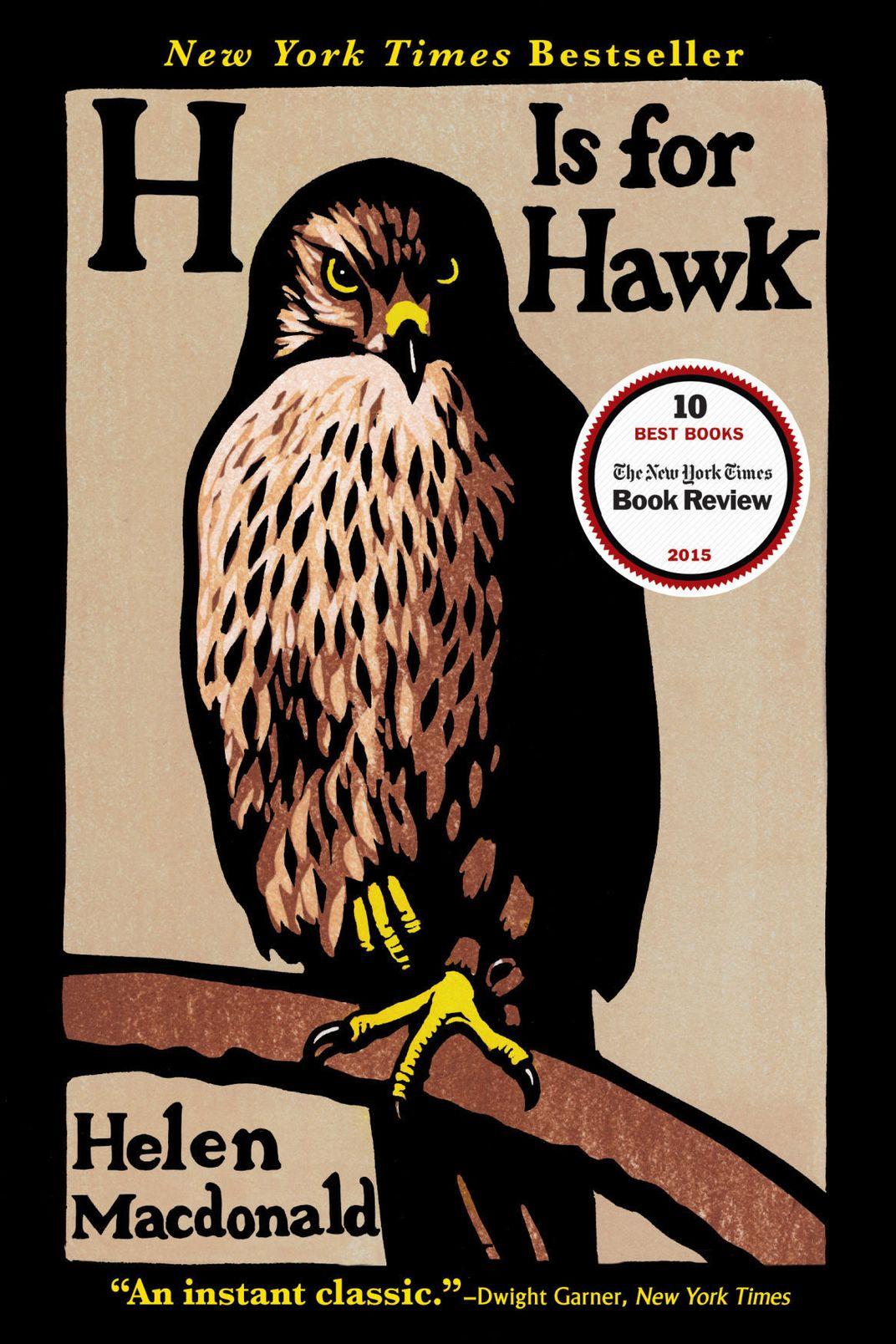 H Is for Hawk, by Helen Macdonald