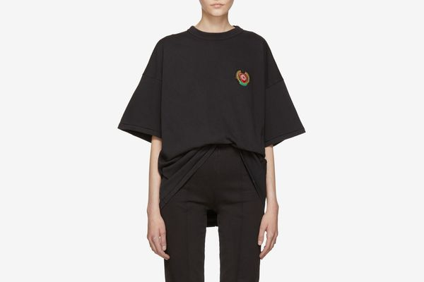 Black Crest Logo Classic T-Shirt