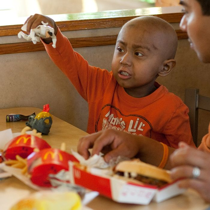 The toy is the most important part of any Happy Meal.
