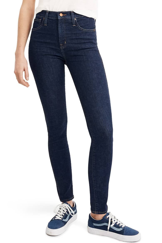 68222bbc83a Madewell 10-Inch High Waist Skinny Jeans