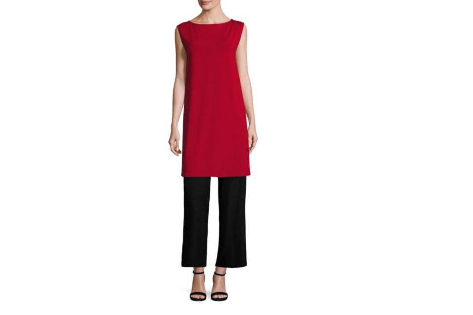 Eileen Fisher Boatneck Tunic