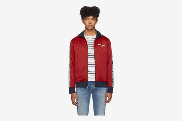 Polo Ralph Lauren Red Logo Track Jacket