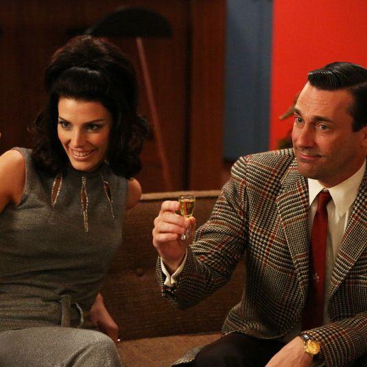 Megan and Don Draper.