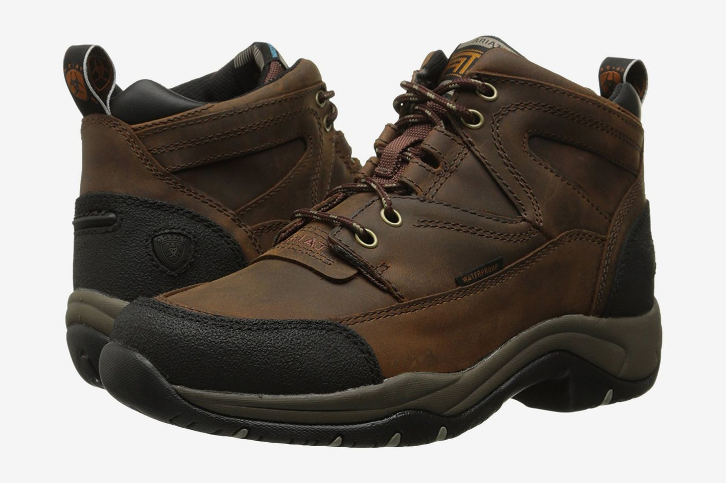 best all weather women's hiking boots ariat brown