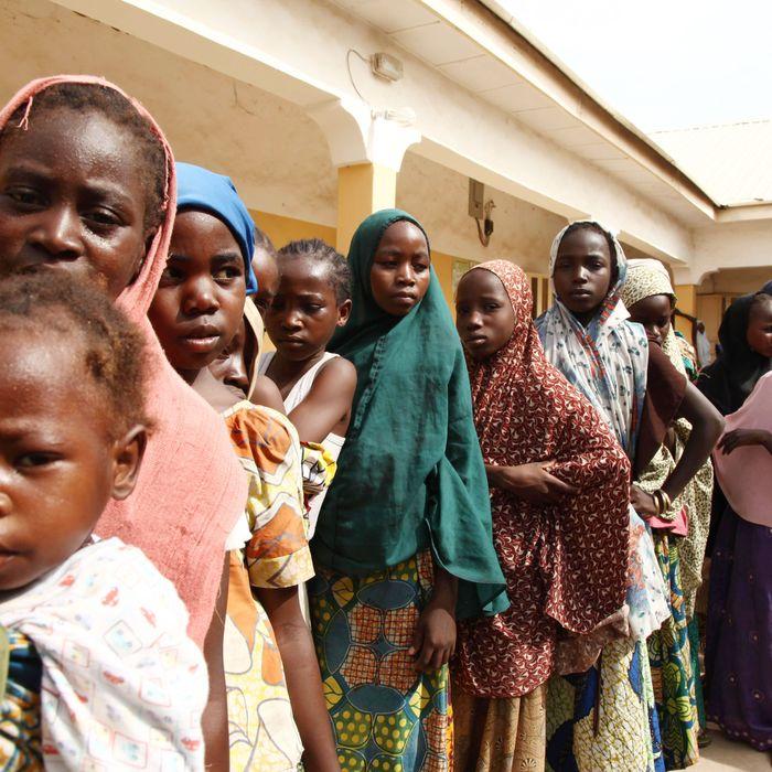 Victims of Boko Haram.