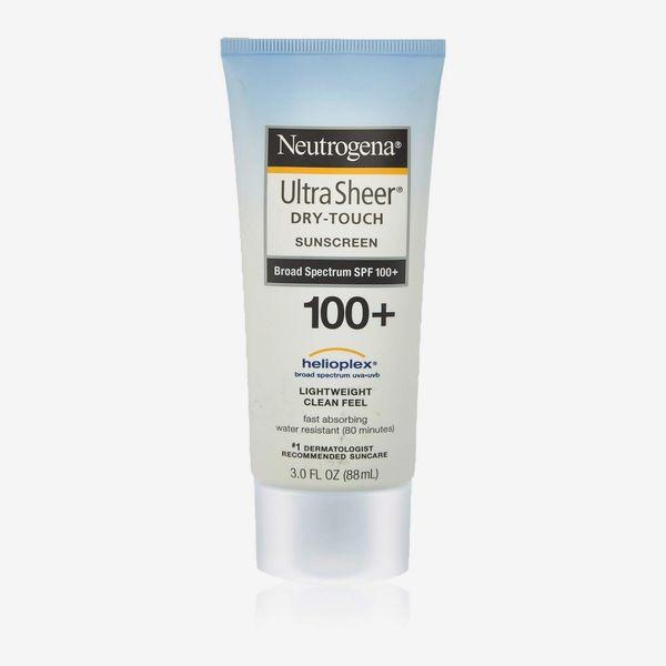 Neutrogena Ultra Sheer Dry-Touch Sunscreen SPF 100, 3 oz.