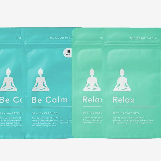 The Good Patch Stress Less Set of 8 Be Calm Patches and 8 Relax Patches
