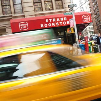 Exterior of the Strand Bookstore during Strand Bookstore Exteriors - April 12, 2006 at Greenwich Village in New York City, New York, United States. (Photo by J. Kempin/FilmMagic)