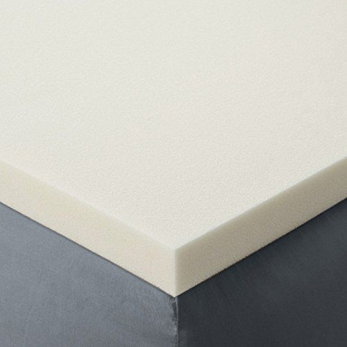 Red Nomad Queen Size 3-Inch Thick Ultra Premium Memory Foam Mattress Topper
