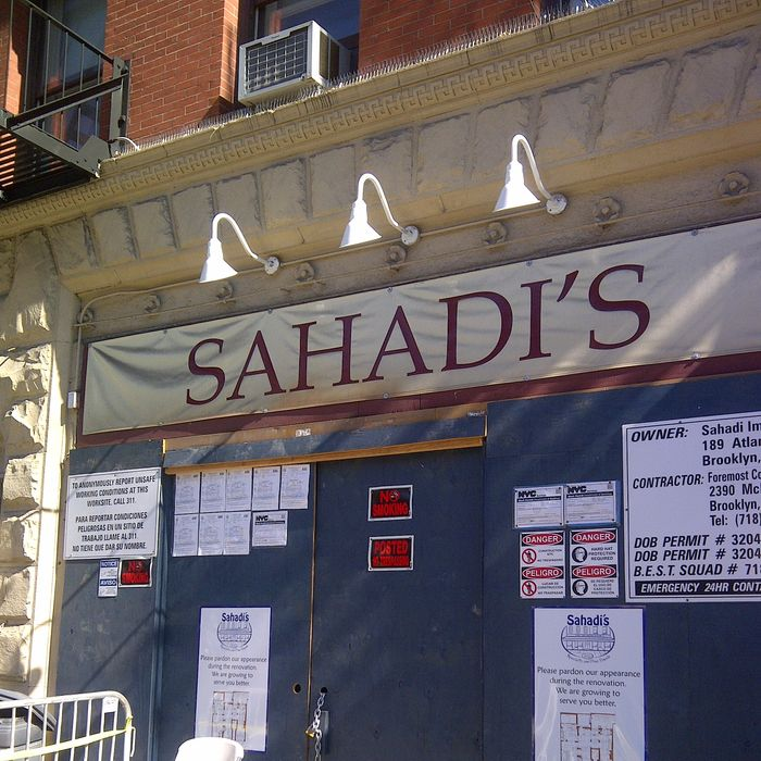 Middle Eastern food mecca.