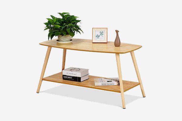 Goplus Coffee Table