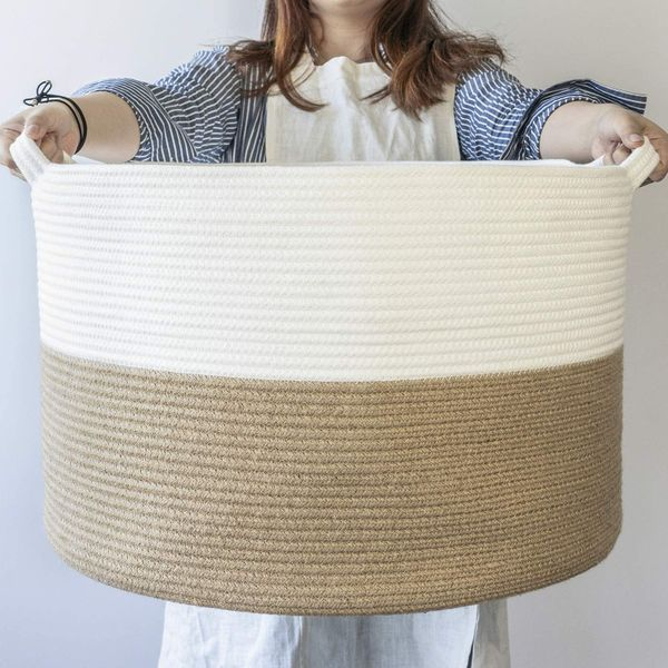 Indressme Cotton Rope Basket (XXXLarge)