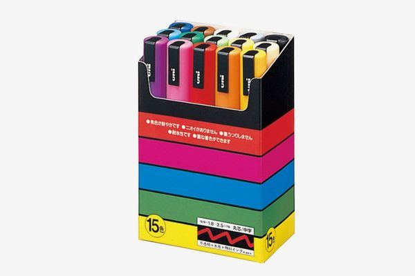 Uni-posca Paint Marker Pen (Set of 15)