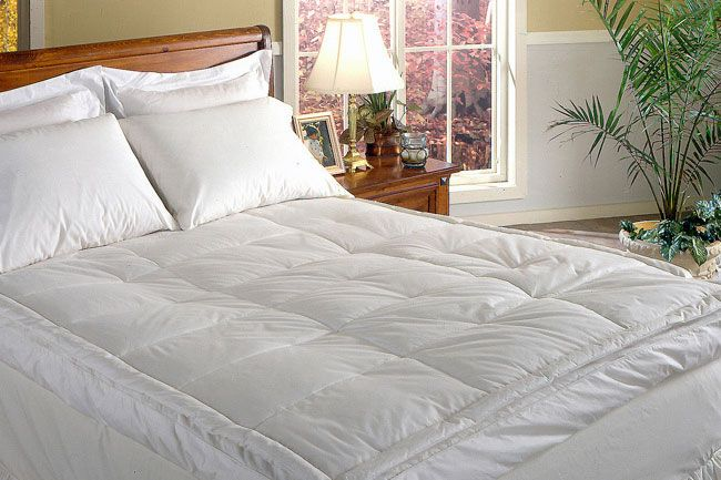 Gusset Featherbed