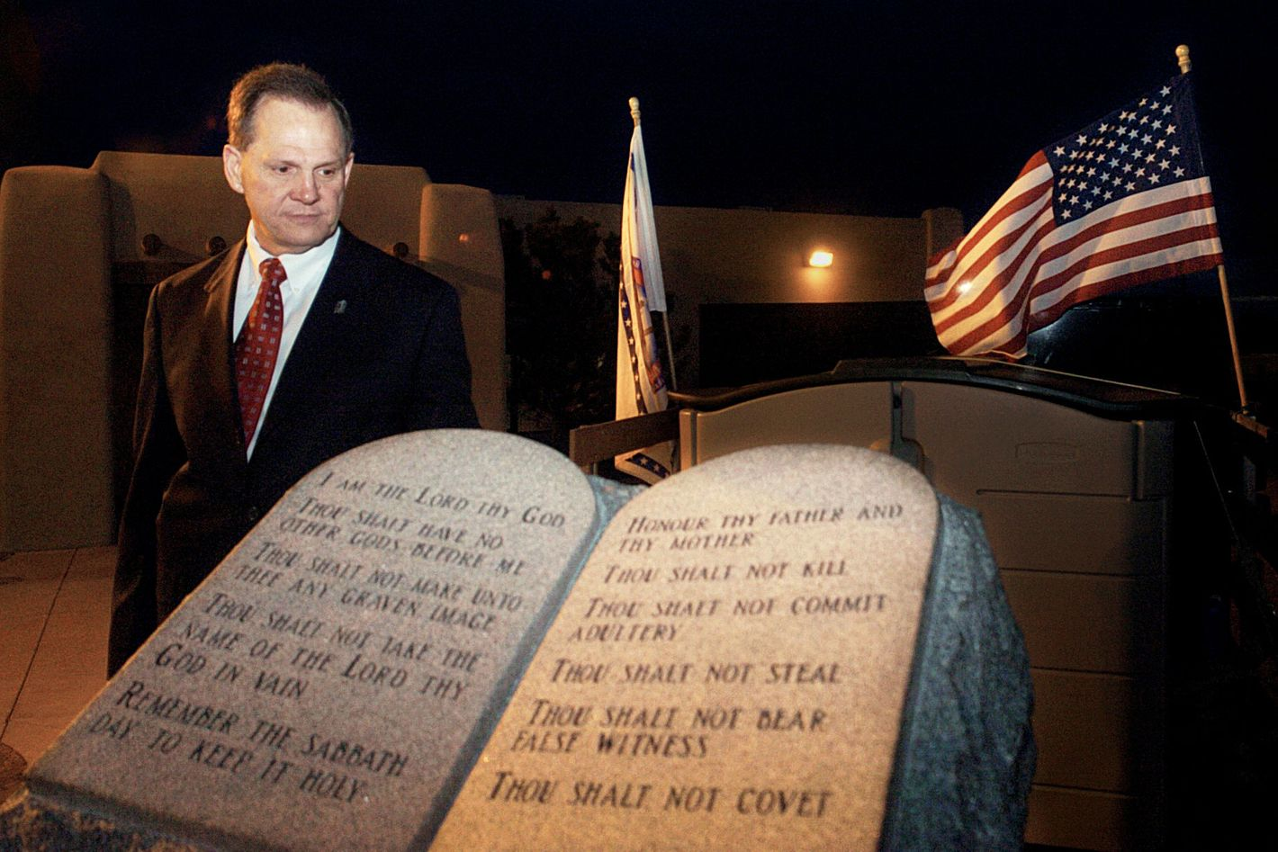 1852bda4629a Alabama s  Ten Commandments Judge  Is Running for Senate