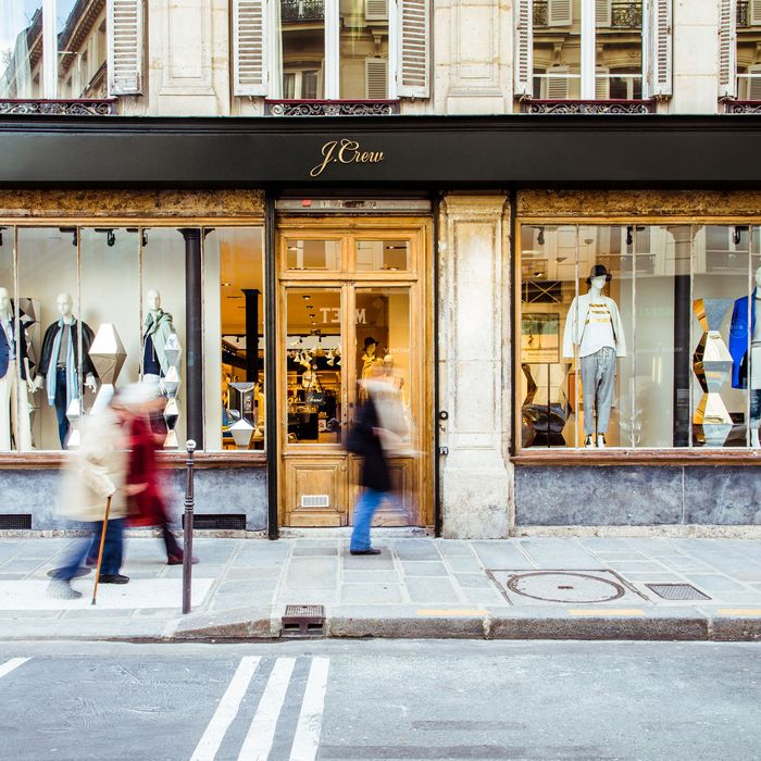 Paris's First J. Crew.