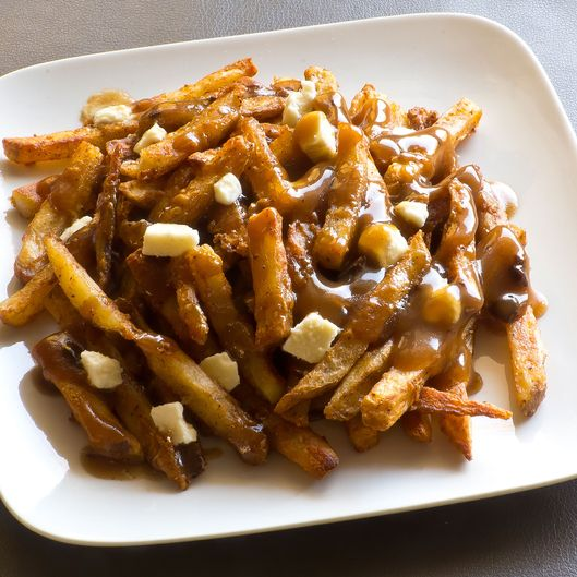 Canadian Poutine, Gravy and French Fries