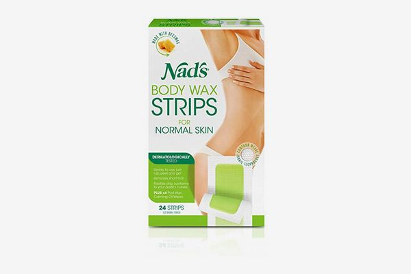 Nad's Cold Wax Strips, 24 Strips
