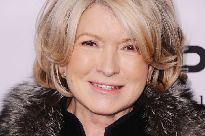 Martha Stewart, inked priestess.