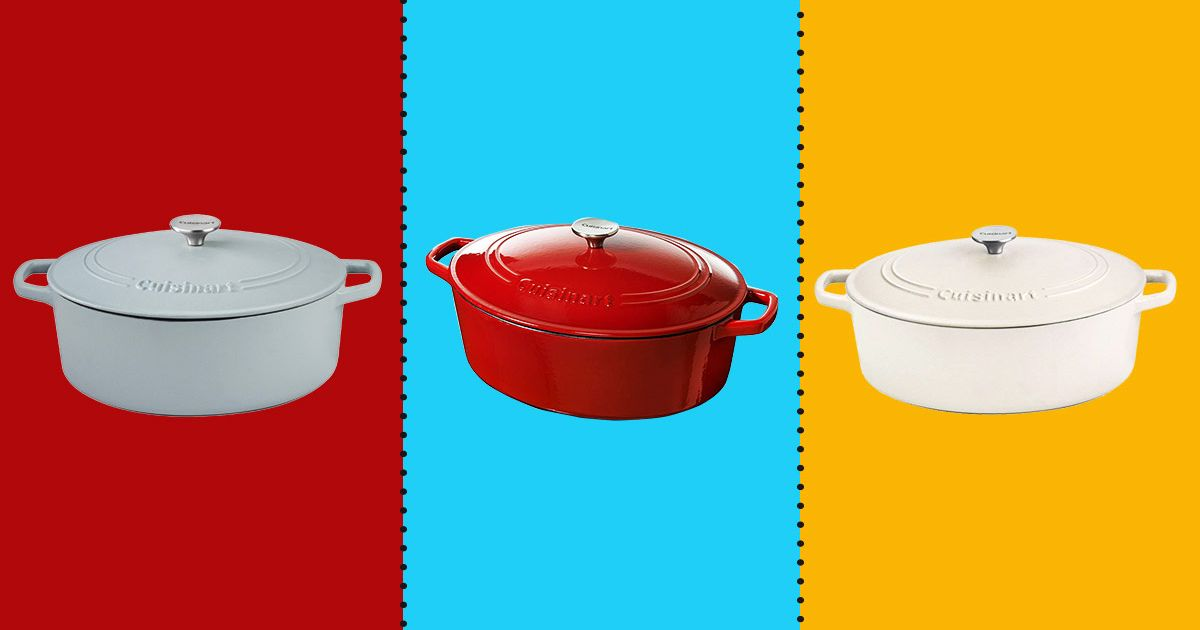 Cuisinart Dutch Ovens Big Enough to Roast Entire Chickens Are 45 Percent Off