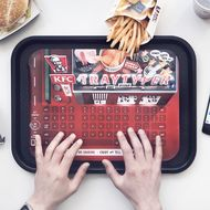 KFC's Disposable Keyboard Trays Are Its Weirdest Gimmick Yet