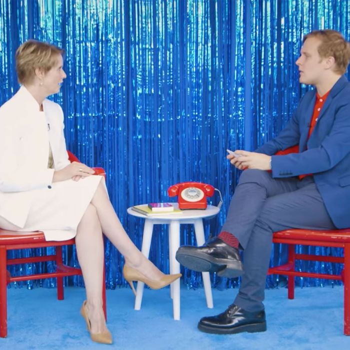Cynthia Nixon, John Early.
