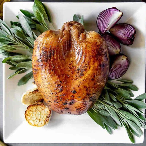 Greensbury Organic Free-Range Turkey Breast, Bone In