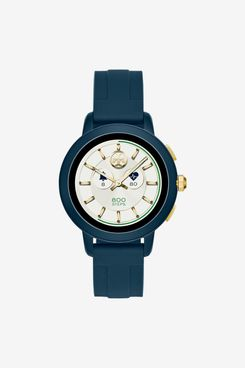 Tory Burch Women's Tory Navy Silicone Strap Touchscreen Smart Watch