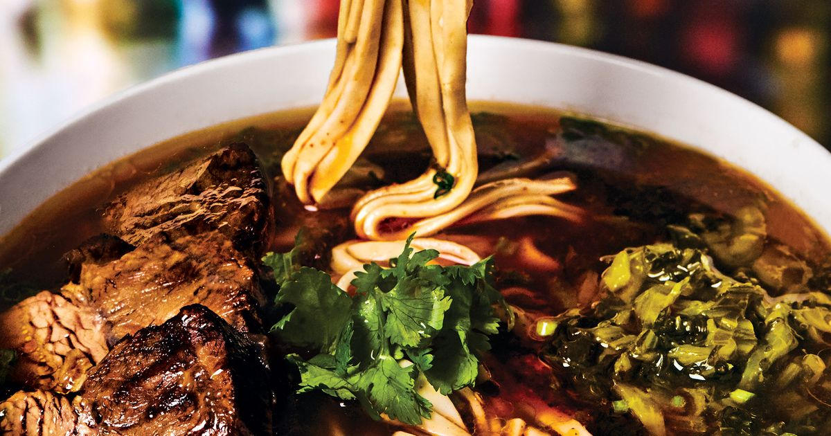 Taiwanese Beef Noodle Soup Is Hot, Heady, and on the Rise in New York