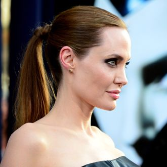 Actress Angelina Jolie attends the World Premiere of Disney's