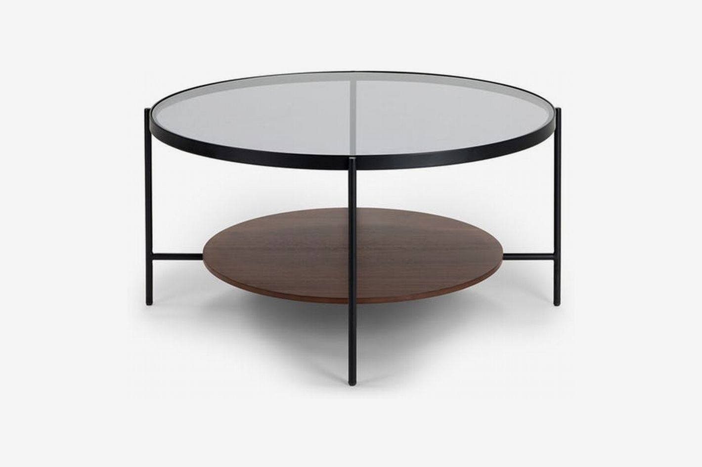 Article Vitri Walnut Coffee Table