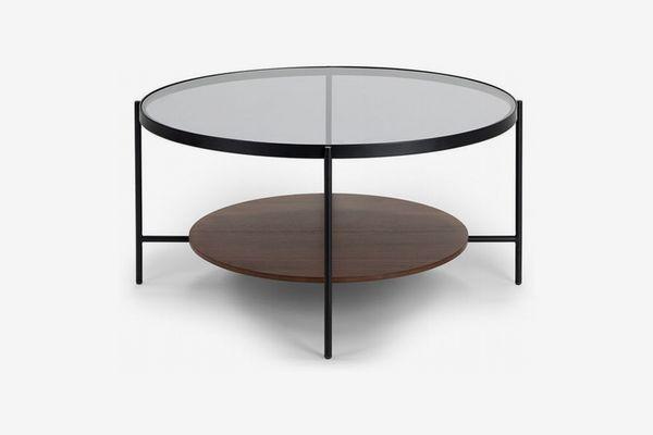 Article Vitri Walnut Coffee Table