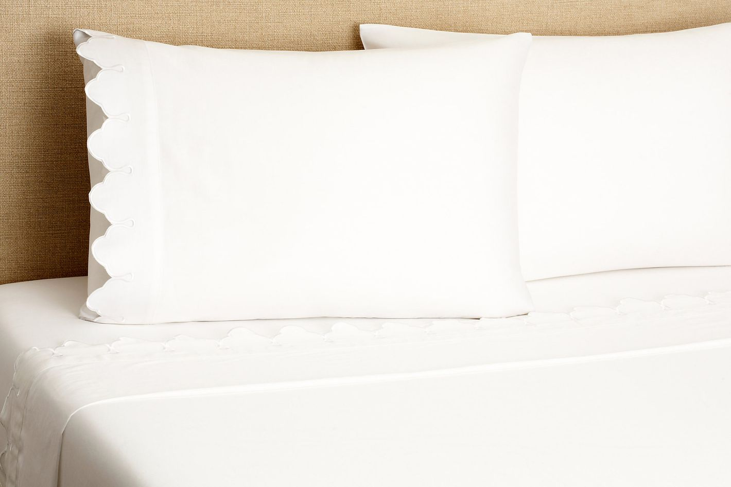Belle Epoque Scalloped Sheet Set
