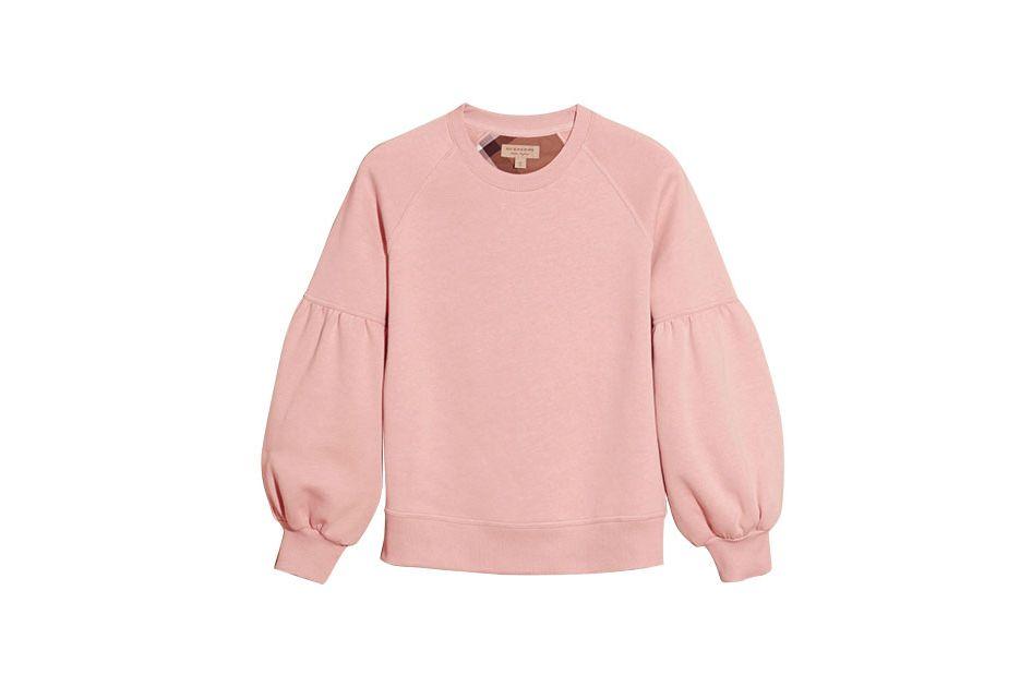 Burberry Brushed-back Jersey Sweatshirt