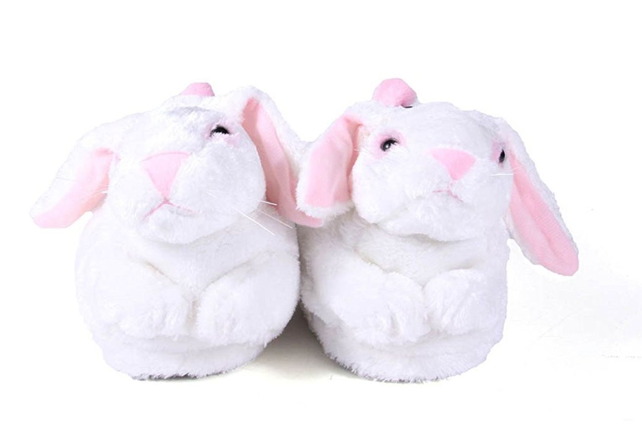 Premium Full Foot Happy Feet Men's and Women's Animal Slippers